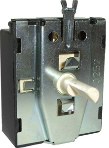 0499000051 Schumacher 6 Position Rotary Selector Switch (7 Terminals