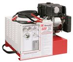 11-608 Goodall Start-All 12 Volt Gasoline Engine Powered 450 Amp 13 CFM Air Compressor 2000 Watt 120 Volt AC Generator