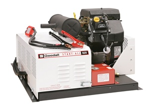 11-923 Goodall Start-All 12 - 24 Volt Service Truck Gasoline Engine Powered 600 Amp 23 CFM Air