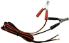 3899001205 Schumacher Clamps Cables Red & Black Set 10 Gauge 84""