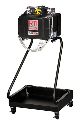 rti power steering flush machine