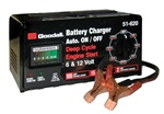 51-620 Goodall 15/2/100 Amp 6/12 V Fully Automatic Bench Automotive Battery Charger