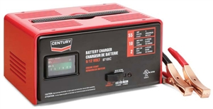 87105C Century 10/2/55 Amp 6/12 Volt Automotive Battery Charger Starter