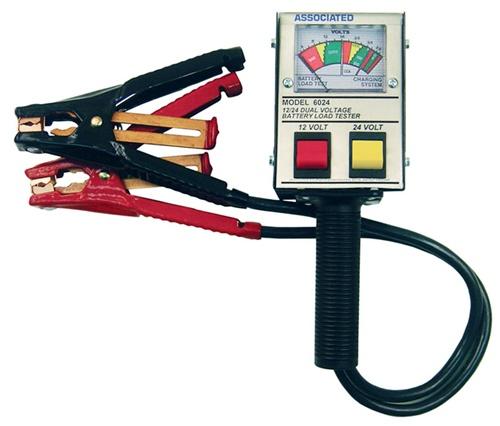 Associated Battery Tester : Associated battery tester volt amp