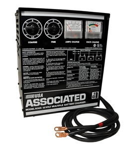 6065 Associated Parallel Charger 12V 30A 1-10 Batteries