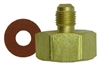 "AD71 CPS Tank Adapter 1/2""-20 UNF ACME Male x 3/4""-14 Female Thread"