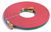 "BRXHTA12 CPS 12.5', 3/16"" Oxy-Acetylene Twin Hose Set ""A"" Ftg."
