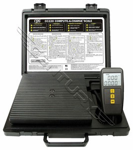 CC220 CPS Compute-A-Charge Charging Scale (220 Lb)