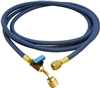 "HJ3BE CPS 3' Blue Premium Hose, 5/16"" (1/2""-20 UNF) Fittings & BV on end"