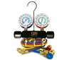 "MAIA6Q CPS Piston Series 2-Valve Automotive Manifold Gauge Set 1/2"" ACME 6' Hoses & Manual Couplers"