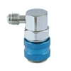 "QCL90 CPS R-134a LO Side 90° Snap Coupler, 1/4"" SAE Fittings"