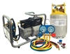 TRA21 CPS Mobile Refrigerant Recovery Recycling System R-134A SAE J-2810