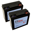ES1240 Replacement Battery Set (Sold As A Pair)