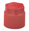 2612 FJC R134a Service Port Cap - 10mm x 1.25 - HS Red (5 Pack)