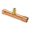 "A31348 JB Industries 1-1/8"" OD Swaged Copper Braze Tee Access - Each"