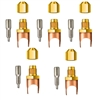 "A32804 JB Industries Copper Saddle Access - 1/4"" Solder 5 Pack"