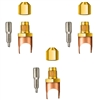 "A32808 JB Industries Copper Saddle Access - 1/2"" Solder 3 Pack"