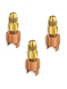 "A32908 JB Industries Copper Saddle Access - 1/2"" Solder 3 Pack"