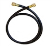 "CL4HD-48 JB Industries 48"" Heavy Duty 1/4"" Hose (Black)"