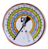 M2-405 JB Industries High Side Illuminating Red R-22 / R-134A / R-404A / R-410A Pressure Gauge - 4""