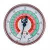 M2-465 JB Industries High Side Red R-22 / R-404A / R-410A Pressure Gauge - 2-1/2""