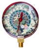 M2-925CM JB Industries High Side 1% Accuracy Red R-22 / R-404A / R-410A Pressure Gauge with Camouflage Face - 3-1/8""