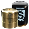 "SHLD-U100 JB Industries Shield Tamper Resistant Access Valve Locking Cap Universal Black - 100 Pack includes 8"" Mag Driver & 2 Bits"