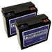 JNC110 Clore Proformer Replacement Battery For JNC1224 (Sold As A Pair)