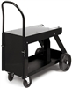 K520 Lincoln Electric Welding Utility Cart (150 cu.ft. bottle capacity)