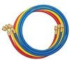"40360 Mastercool Set Of 3-60"" Hoses W/Standard Fitting"