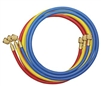"40372 Mastercool Set Of 3-72"" Hoses W/Standard Fitting"