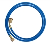 "45721 Mastercool 72"" Blue Hose W/Shut-Off Valve Fitting"