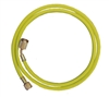 "45962 Mastercool 96"" Yellow Hose W/Shut-Off Valve Fitting"