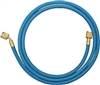 "46961 Mastercool 96"" Blue Barrier Hose W/Shut-Off Valve Fitting"