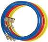 "83372 Mastercool Set of 3 72"" Charging Hoses for R1234YF"
