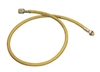 "84605 Mastercool 60"" Yellow R134A Charging Hose W/O Shut-Off Valve"
