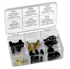 91334-A Mastercool R12 / R134a Charging Hose Replacement Parts Assortment (55 Piece)