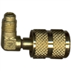 "10250 Robinair Quick Coupler 90° Brass Adapter 1/4"" MFL X 1/4"" FFL"
