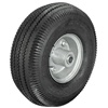 "Robinair 10"" Heavy Duty Pneumatic wheel for Sidewinder style Cart units. Deep tread design for no slip traction even on wet or oily floors. A tubeless design with long air stems provide easy inflation and long life."