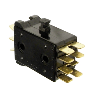 524817 promax centrifugal switch for 1 2 hp a c motor 110v for Electric motor centrifugal switch replacement