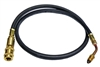 567272 Robinair Tank Fill Hose With Inline Filter provides protection of debris in virgin supply tanks from contaminating your machine.