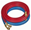 "68020 Robinair 20' Red Blue Enviro-Guard Hose Set 1/4"" Standard Fittings"