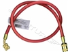 68126 Robinair 36 Red Quick-Seal Enviro-Guard Tank Hose R134A