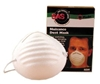 2985 SAS Safety Non-Toxic Dust Mask - 50-Pk