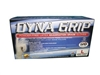 650-1002 SAS Safety Dyna Grip Pf Latex Gloves - Box Of 100, Medium
