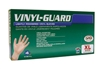 6509 SAS Safety Disposable Vinyl Gloves- X-Large