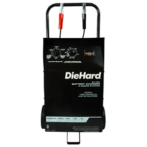 DH-200M Schumacher Die Hard 2/10/40/100 Amp 12 Volt Wheeled Manual Automotive Battery Charger