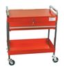 8013A Sunex Tools Service Cart W Locking Top Red