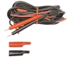 A065 TPI 10-Foot Shielded Test Lead Set With Alligator Clips Screw-On