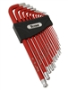 12713 Titan 13pc SAE Non Slip Extra Long Hex Key Set